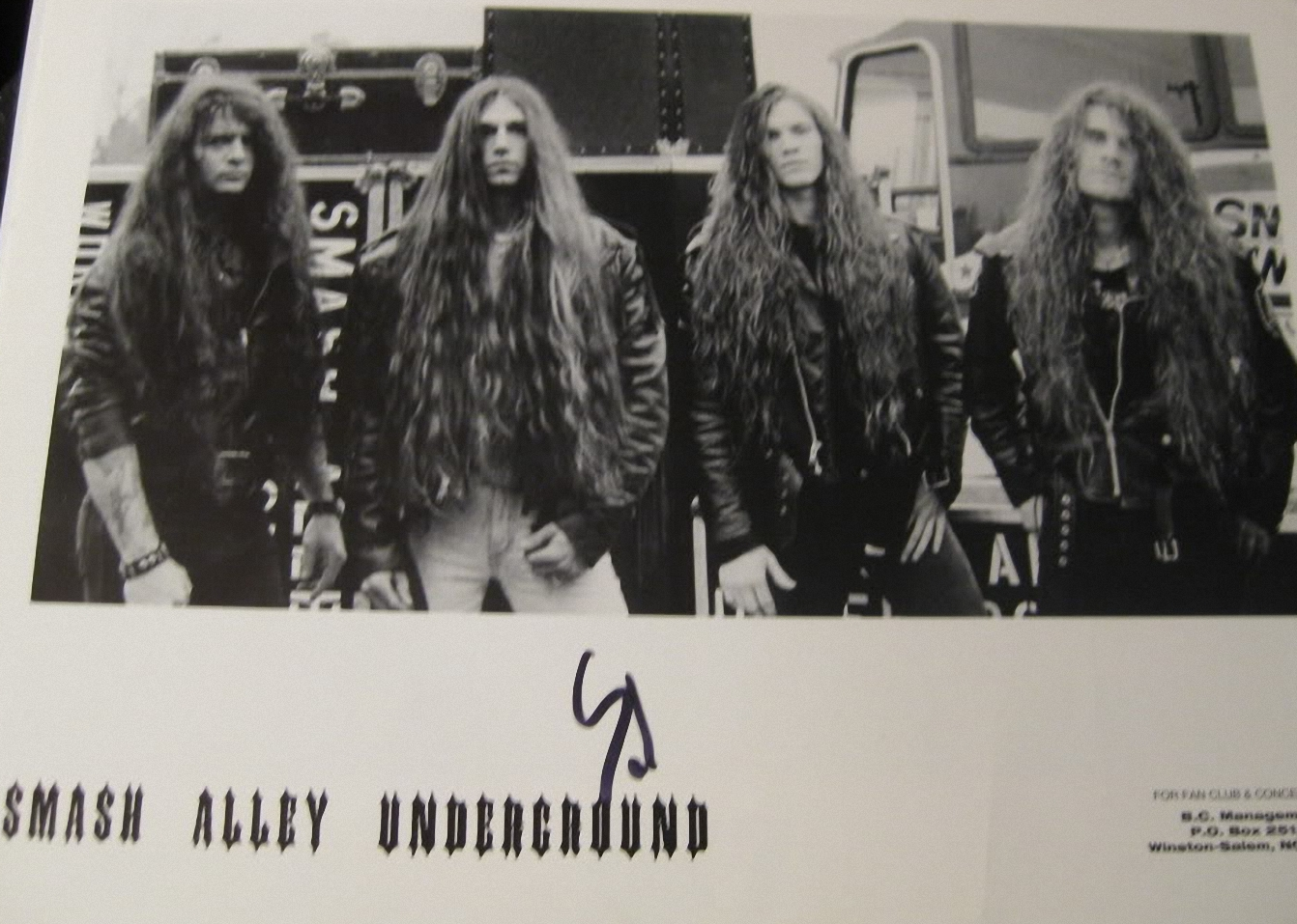 Smash Alley Underground - Rising From The Shadows 1995